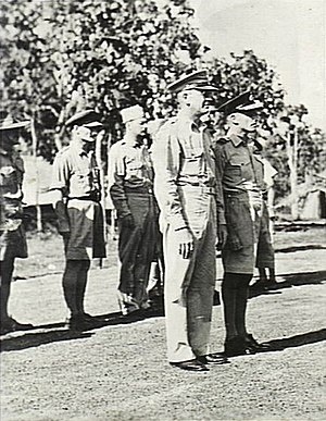 Ennis Whitehead - Major General Whitehead, New Guinea, 1943