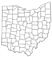 Location of Russellville, Ohio