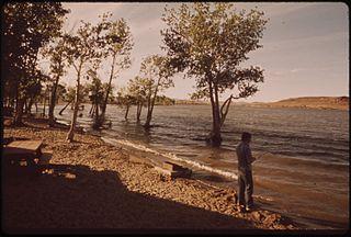 lake in Nevada, United States of America