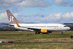 OY-JTT Boeing 737-700 Jet Time (26405866095).jpg