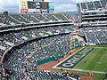 Oakland Coliseum north side from section 319.JPG