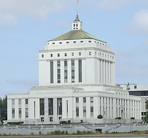 Alameda County, California - René C. Davidson Courthouse, Alameda County Superior Court, Oakland in June 2009