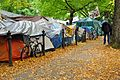 Occupy Portland, October 21 tents.jpg