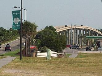 Ocean Isle Beach, North Carolina - Bridge over Intracoastal Waterway
