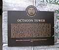 Octagon Tower plaque jeh.jpg