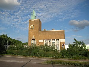 Odhams Press - Odhams Press Hall, Watford, built 1954