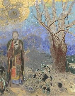 Odilon Redon - Buddha - Google Art Project