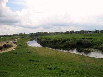 Odra (Kupa) - Odra near Sisak