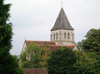 Hamsey - Image: Offham Church 2