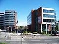 Office Park Nové Butovice, budovy B a A, z Bucharovy.jpg