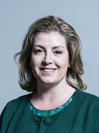 Secretary of State for International Development - Image: Official portrait of Penny Mordaunt crop 2