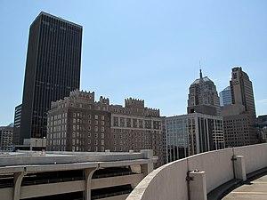 Chase Tower (Oklahoma City) - Image: Okcskylineskrivincha seumb