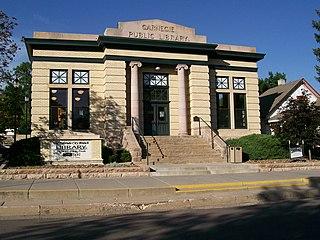 Old Colorado City Branch Carnegie Library
