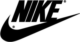 Nike, Inc. - Old logo of Nike, Inc., still used on some retro products with red boxes