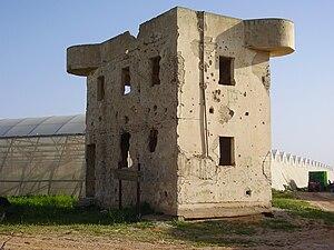 Mivtahim - Old Security House in Mivtahim