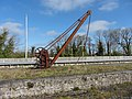 Old crane at Ballinasloe station (geograph 5345575).jpg