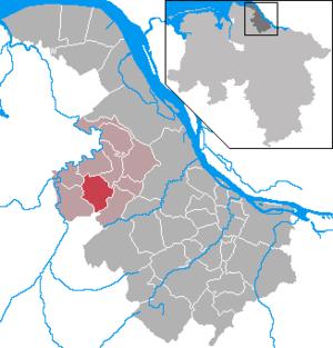 Oldendorf, Stade - Image: Oldendorf in STD
