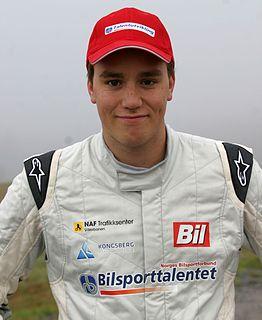 Ole Christian Veiby rally driver
