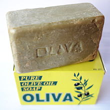 fotografía de pastilla de jabón vegano
