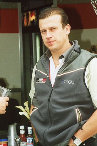 1993 International Formula 3000 Championship - Olivier Panis (pictured in 2002) won the championship driving for DAMS