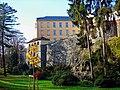 Olomouc - Park Bezručovy sady - Nábřeží Přemyslovců - View West on Palacký University Buildings.jpg