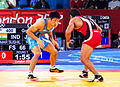 Olympic Freestyle Wrestling (66 kg - Gold Medal Match 1).jpg