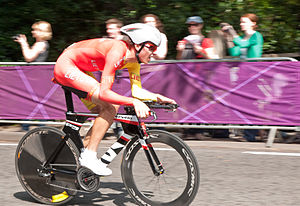 Lithuania at the 2012 Summer Olympics - Ramūnas Navardauskas in men's road time trial.
