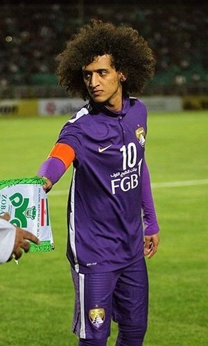 Omar Abdulrahman - Abdulrahman playing for Al-Ain in 2016