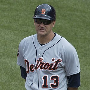 Omar Vizquel - Vizquel as first baseball coach of the Detroit Tigers in 2017