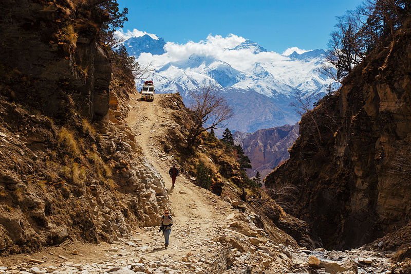 Jomsom to Upper Mustang by foot