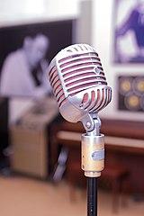 Microfono anni 50 utilizzato da Elvis