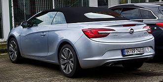 Opel Cascada - Image: Opel Cascada 1.6 EDIT Innovation – Heckansicht, 23. März 2014, Düsseldorf