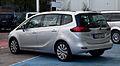 Opel Zafira Tourer 1.4 Turbo ecoFLEX Edition (C) – Heckansicht, 15. September 2012, Düsseldorf.jpg