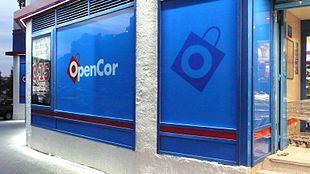 Un supermercato Opencor ad Aravaca, quartiere di Madrid.