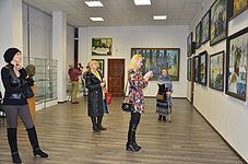 Opening of an exhibition of Leonid Shchemelyov 23.01.2015 15.JPG