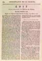 Ordonnance de la marine - Edit, Esclaves des Colonies conduits ou envoyés en France, Le Cap, 3 février 1717.xcf
