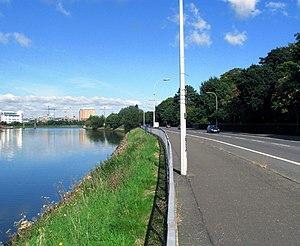 Pottinger (District Electoral Area) - Ormeau Embankment along the River Lagan.