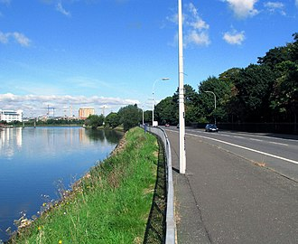 Pottinger (District Electoral Area) - Ormeau Embankment along the River Lagan.