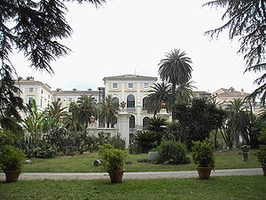 Villa Corsini from the pack