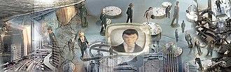 Guillem Ramos-Poquí - Orwell Prediction, 2003. Digital photomontage