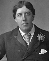 A photograph of Oscar Wilde, dated to 23 May 1889.