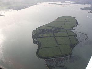 River Blackwater, Essex - Osea Island, in the Blackwater Estuary