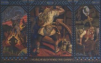 Kalevipoeg - Kalevipoeg in the Netherworld