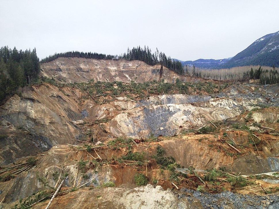 Oso Mudslide 22 March 2014 Mountain view
