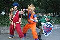 Otakuthon 2014- Goemon, Goku and Link (15039860765).jpg