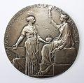 Ouverture du canal de Suez médaille Roty avers.JPG