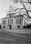 overzicht huis op de hoek van alexanderstraat 17 en plein 1813 -