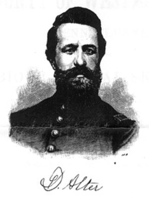 David Alter - Portrait of Dr. David Alter, printed in the book History of the County of Westmoreland, Pennsylvania (1882).