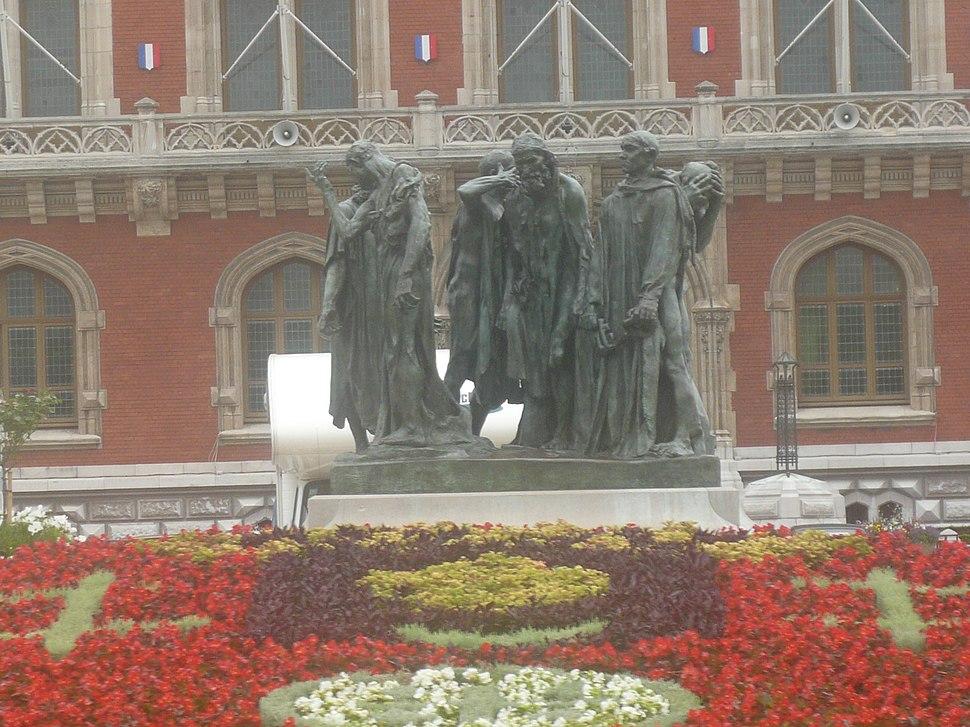 P1040463 statue les bourgeois de Calais