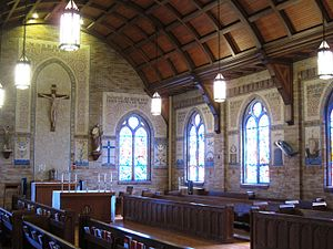 Pontifical College Josephinum - The Josephinum's Saint Joseph oratory